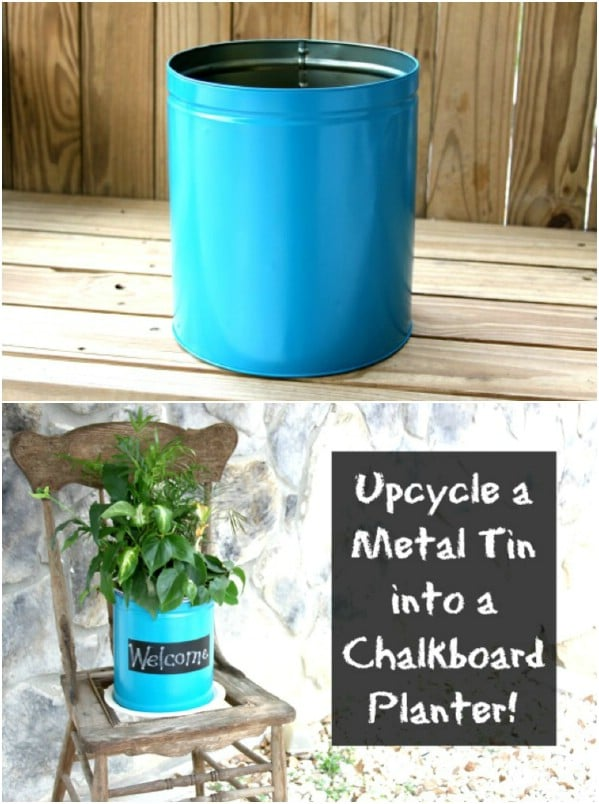 20 Crazy Creative Popcorn Tin Repurposing Projects Diy