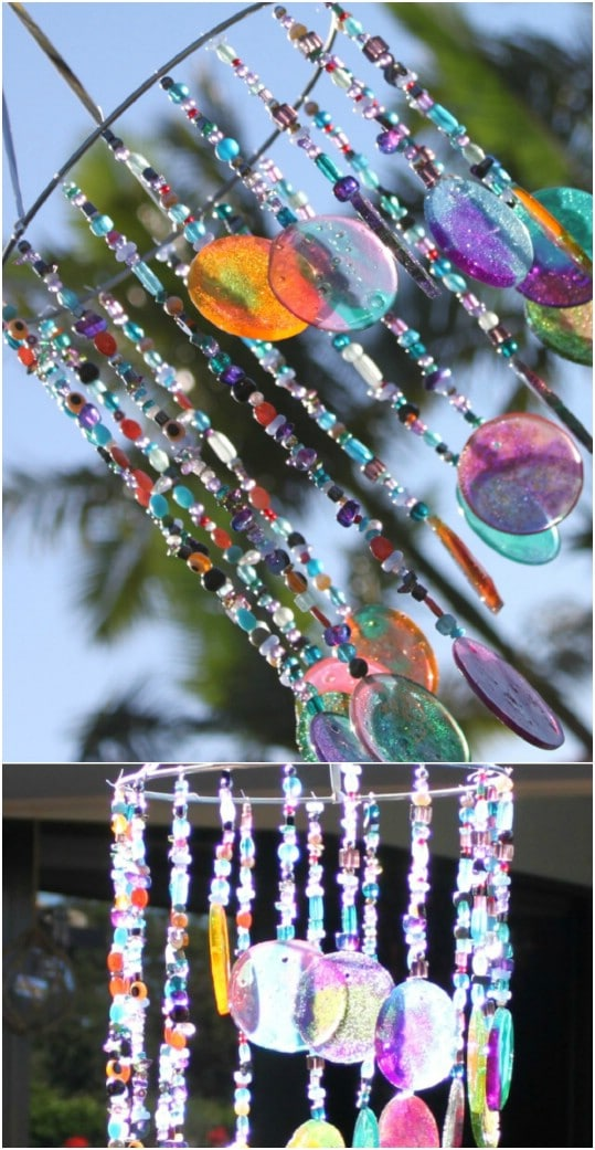 Handmade Sun Catcher Wind Chime