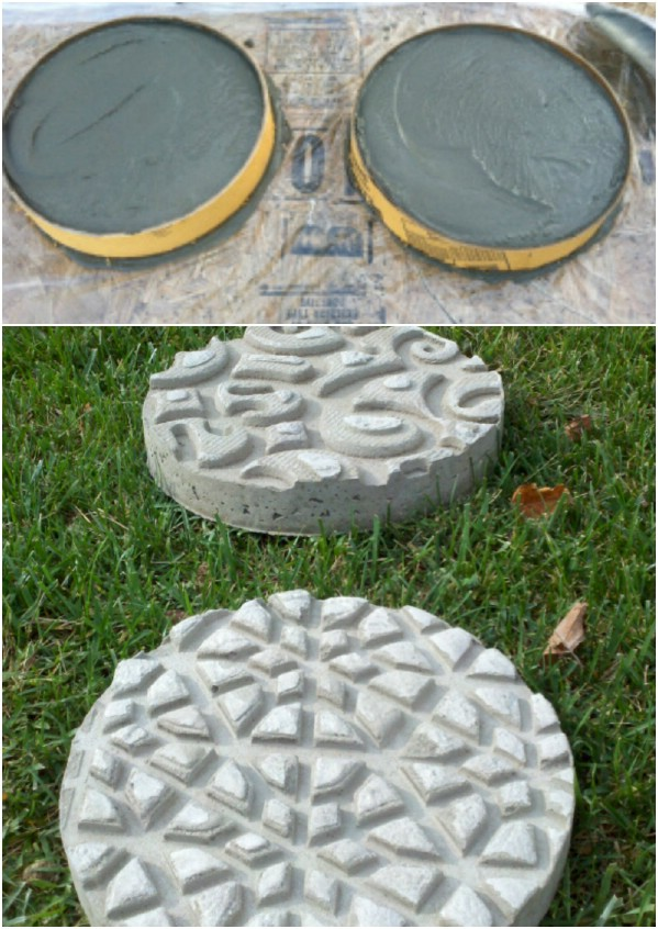 Simple Textured Stepping Stones