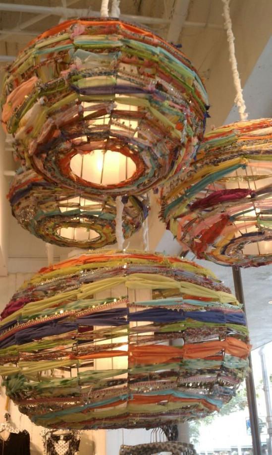 DIY Fabric Chinese Lantern