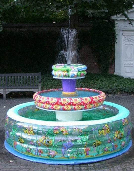 Beautiful Triple Tiered Garden Fountain