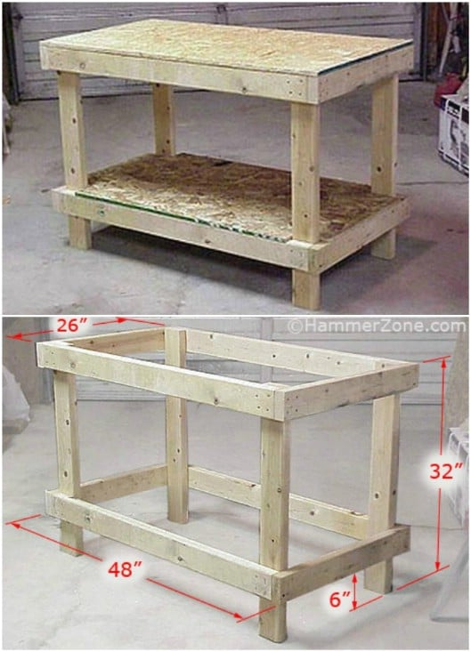 $20 DIY Workbench