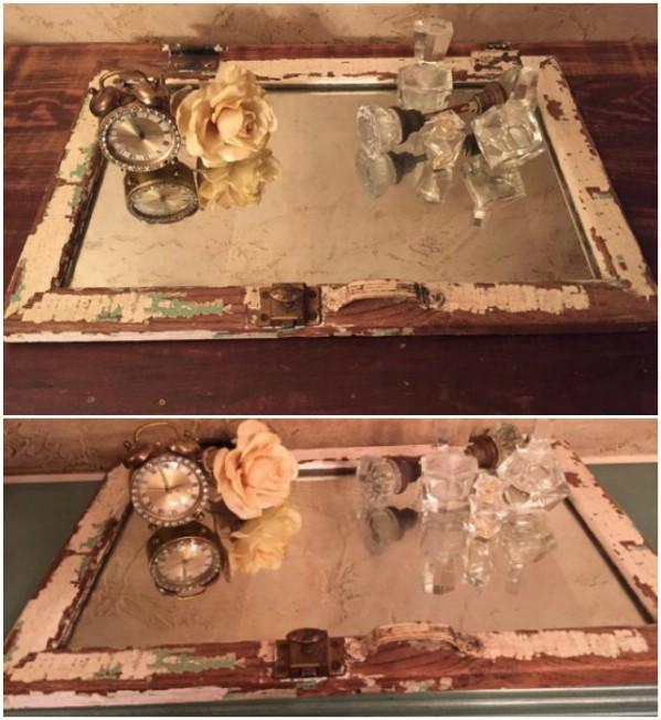 Medicine Cabinet Mirror Vanity Tray