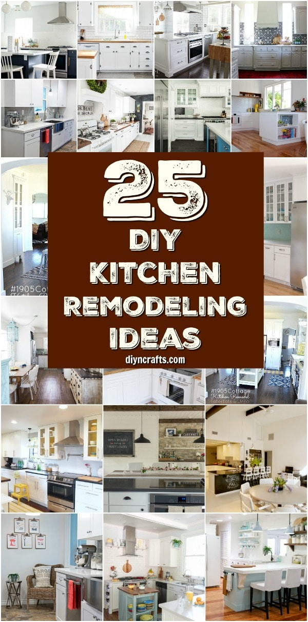 25 Inspiring DIY Kitchen Remodeling Ideas That Will ...