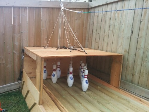 Fun Summer Project How To Build Your Own Backyard Bowling