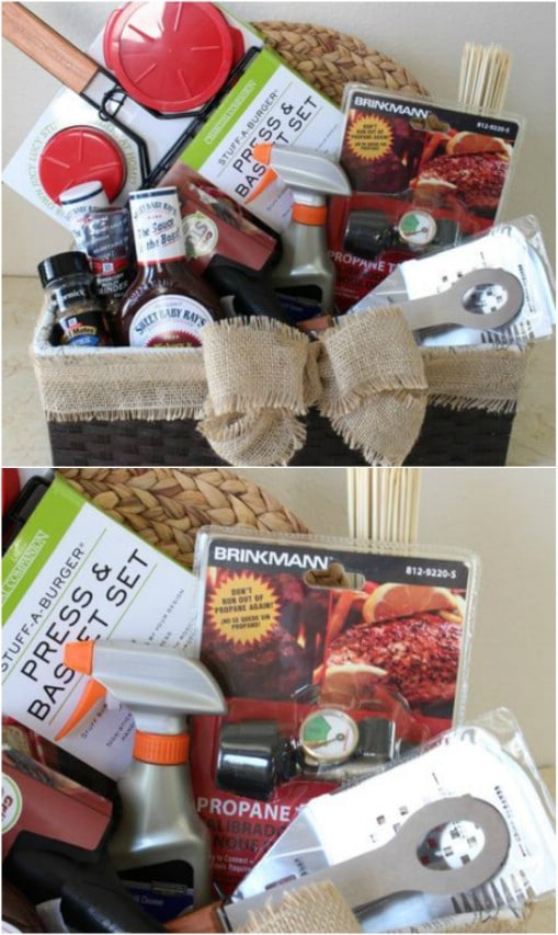 Father's Day Grill Basket