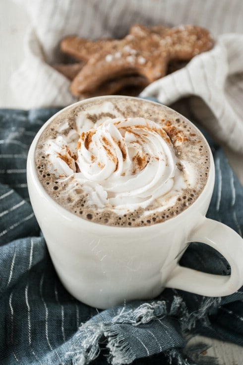 Yummy DIY Gingerbread Latte