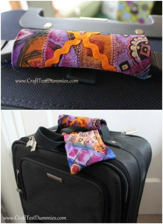 Easy Silk Tie Luggage Tags