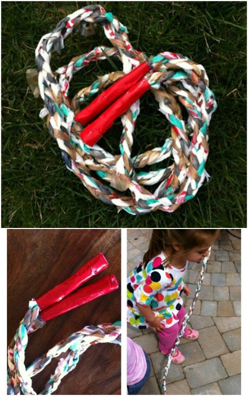 Upcycled Plastic Bag Jump Rope