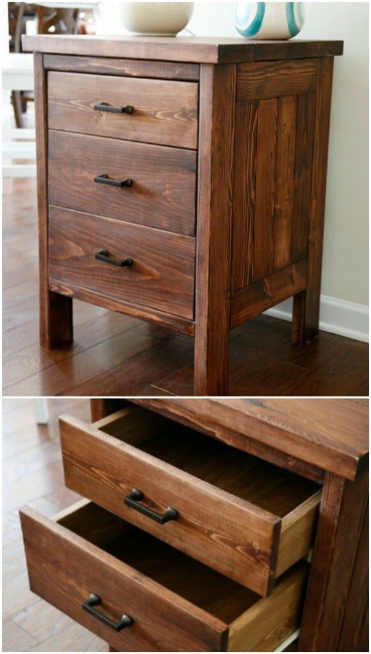 15 Creative And Easy DIY Nightstand Projects