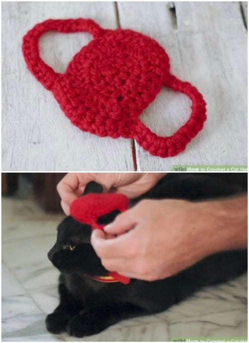 Easy Crochet Cat Hat