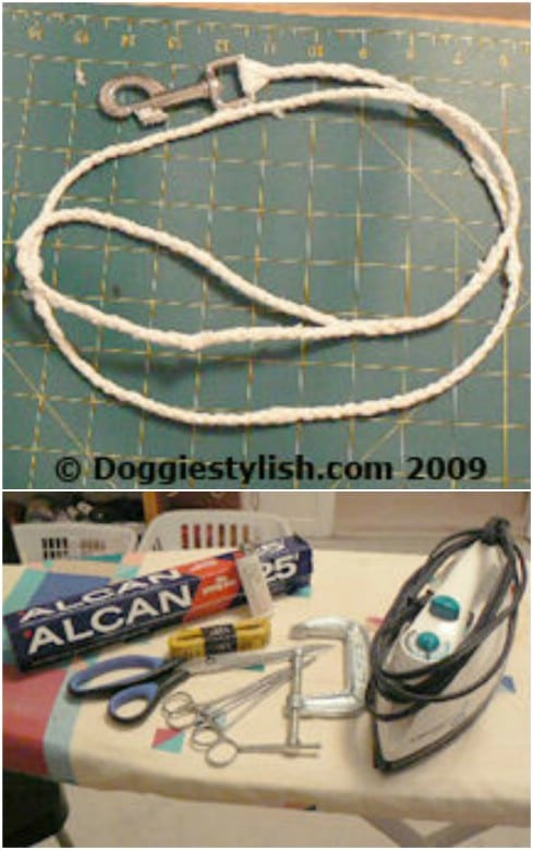 Plastic Bag Dog Leash