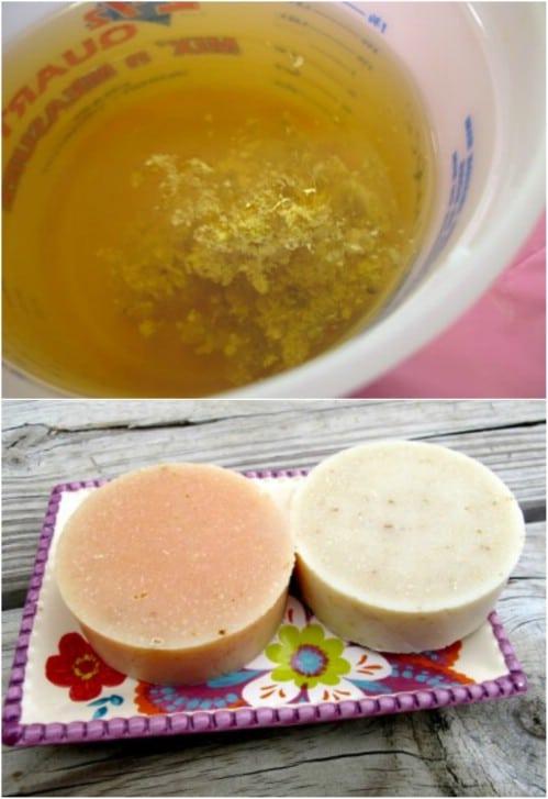 Fresh Ginger Pulp Soap