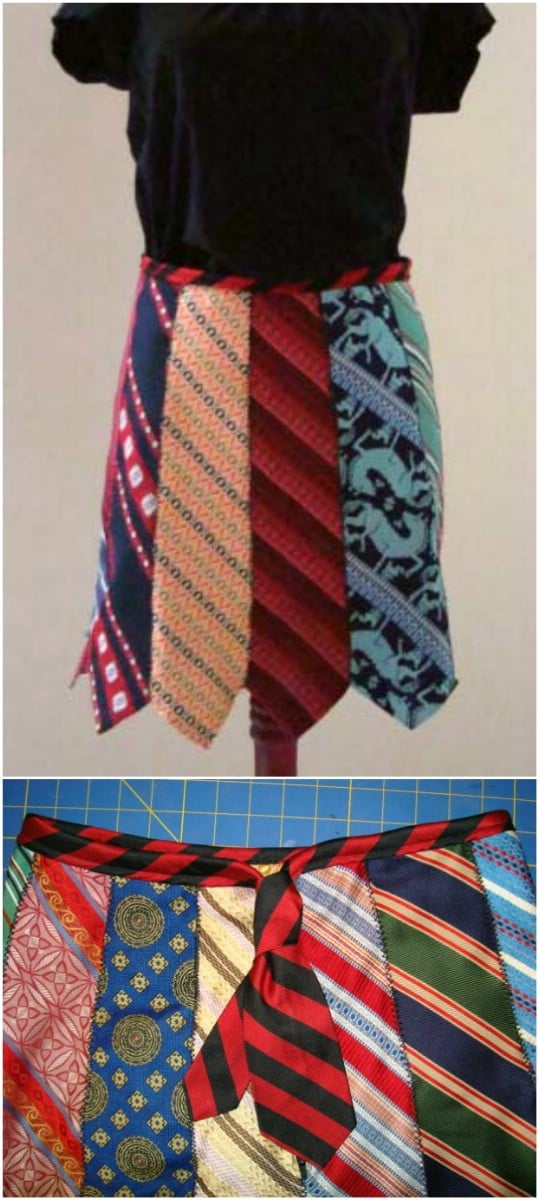 Gorgeous Little Necktie Skirt