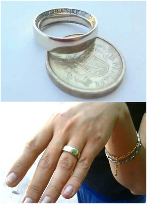 Summer Inspired Coin Rings
