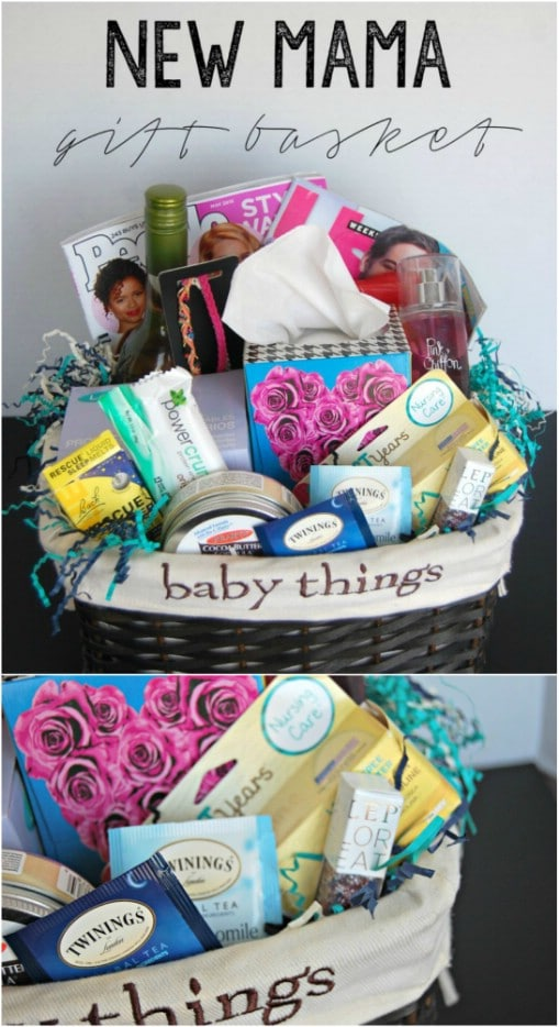 New Mama Gift Basket