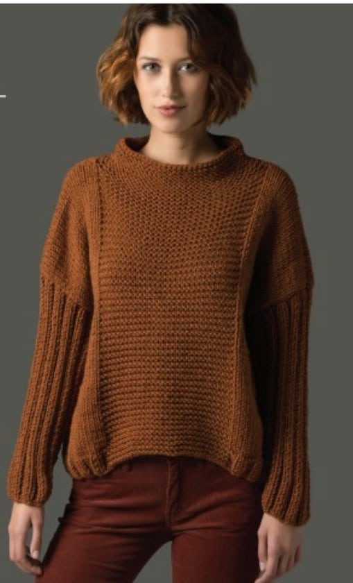 Four Rectangle Basic Pullover
