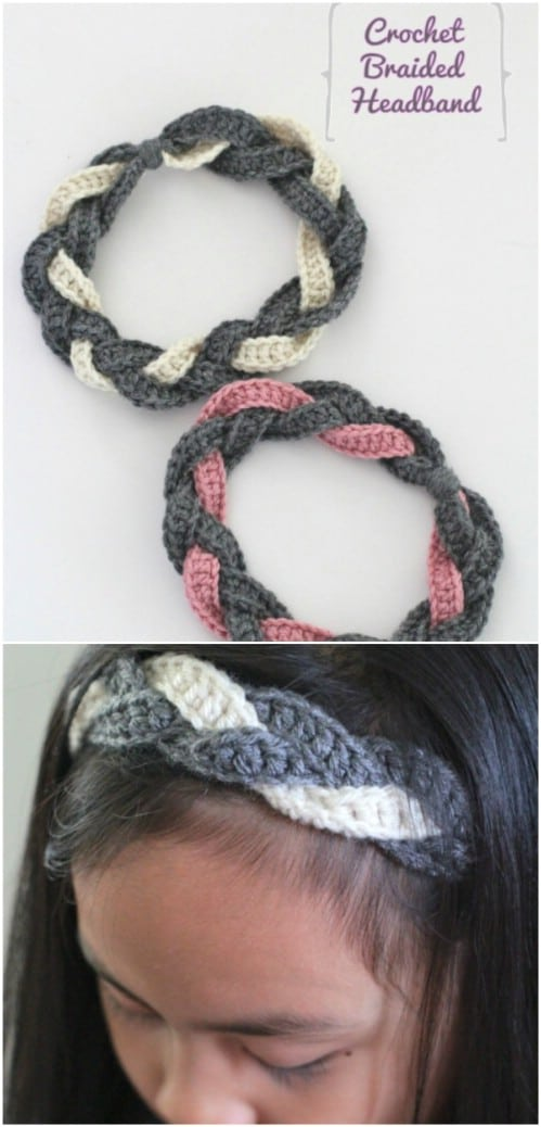 30 Easy And Stylish Knit And Crochet Headband Patterns - DIY   Crafts 6cd63100981