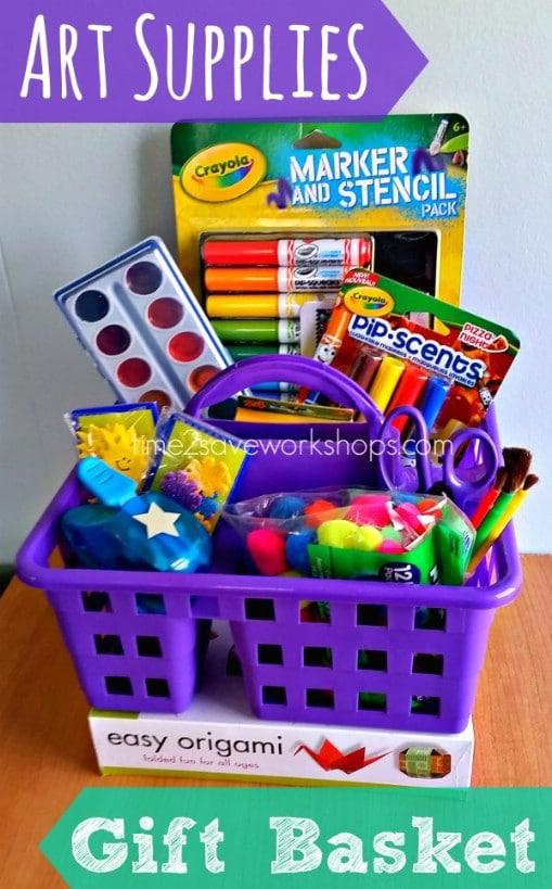 Craft Supply Basket
