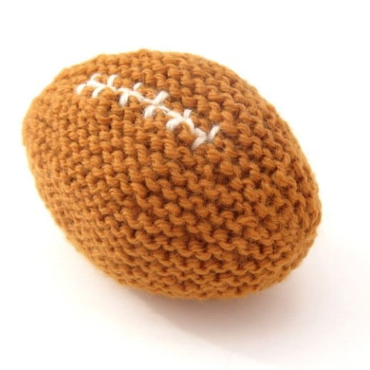 Baby's First Football – Crochet Project