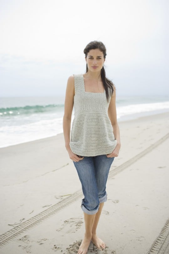 Easy Crochet Sea Breeze Top