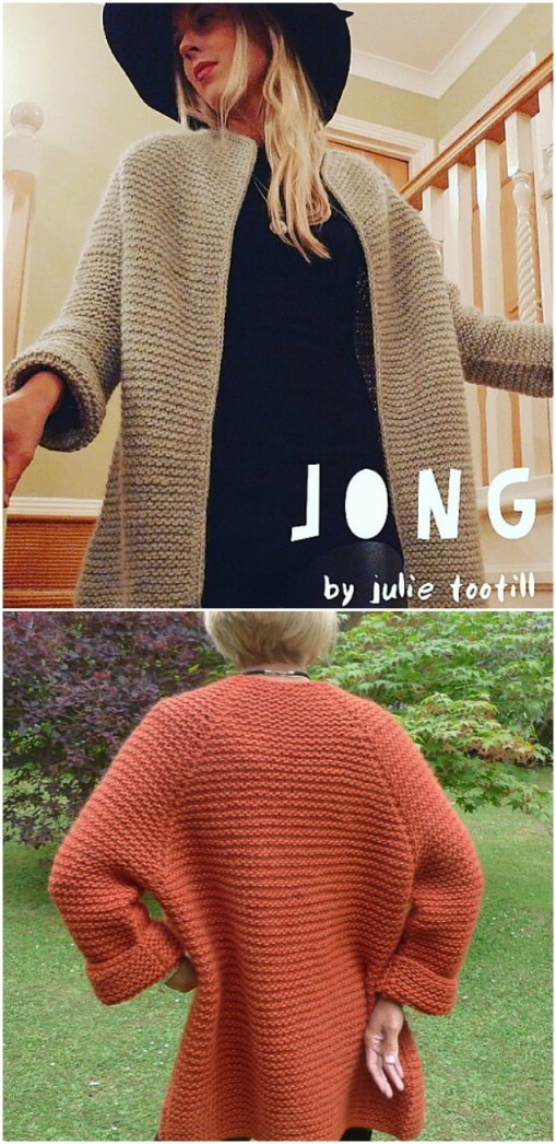 Easy Knit Jong Sweater