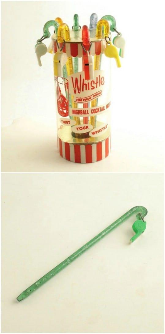 Fun Vintage Bottle Cap Whistle