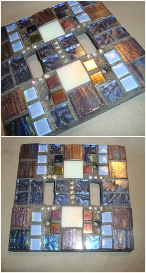Gorgeous Mosaic Switch Cover