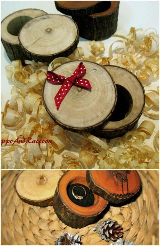 Stump Ring Holder