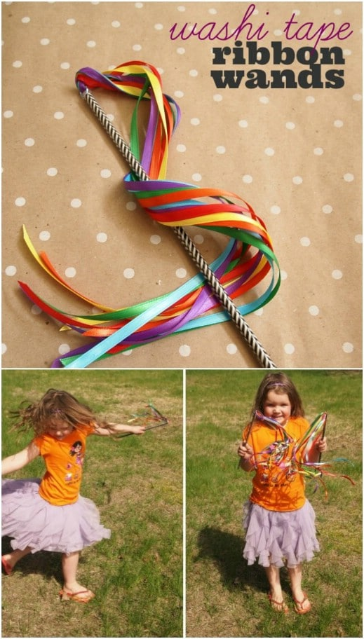 Fast And Easy Ribbon Wands For Babies