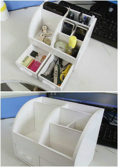 Easy Cardboard Stationary Box