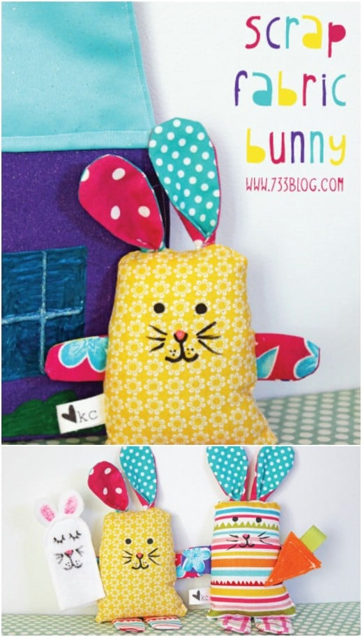Easy Scrap Bunny Softy Baby Toy