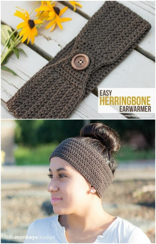 30 Easy And Stylish Knit And Crochet Headband Patterns Page 2 Of 2