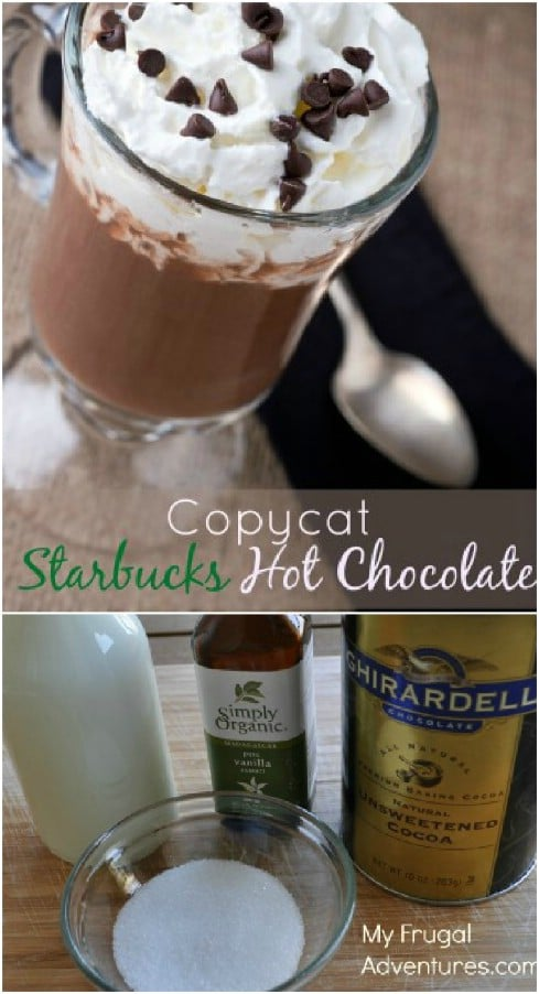 Quick And Easy Starbucks Hot Chocolate Copycat