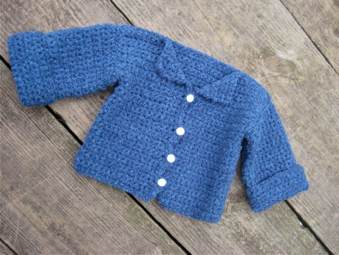 Adorable Crochet Baby Cardigan