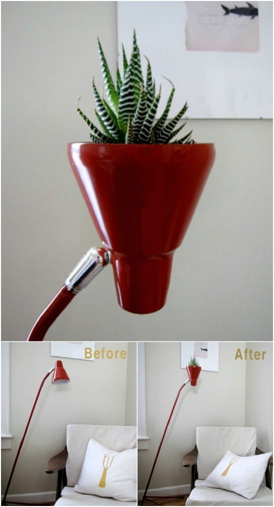 20 Fantastic Lamp Repurposing Ideas To Add Style To Your ...