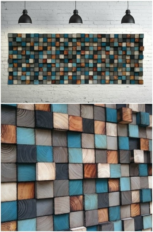 Mosaic Headboard Wall Art