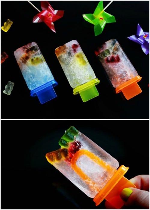 Gummy Bear And Sprite Pops