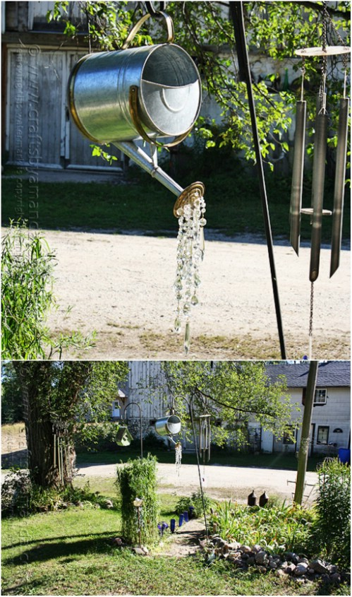 DIY Crystal Watering Can