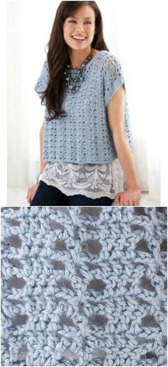 Casual Crochet Summer Top