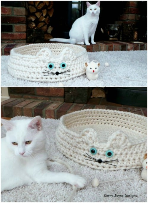 Cat's Cradle Crochet Bed