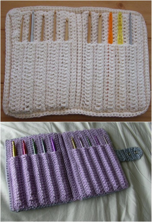Easy To Crochet Hook Case