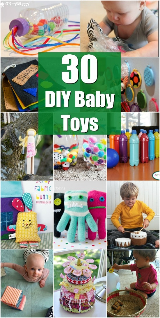 30 Fun And Educational Baby Toys You Can Diy In Your Spare Time