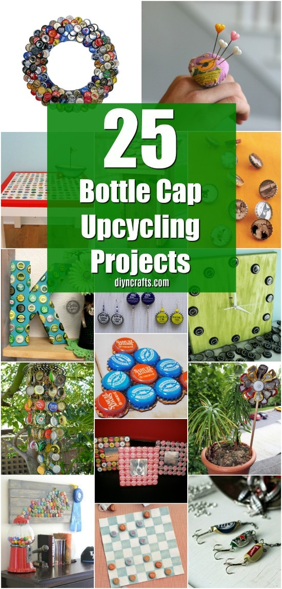upcycling ideas crafts 25 bottle cap upcycling projects that add flair to your 3162