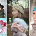 30 Easy And Stylish Knit And Crochet Headband Patterns
