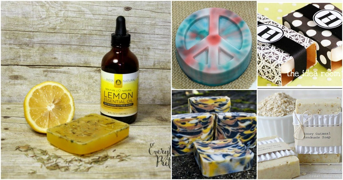 35 Handmade Soaps That Bring Style And Beauty To Every Bathroom