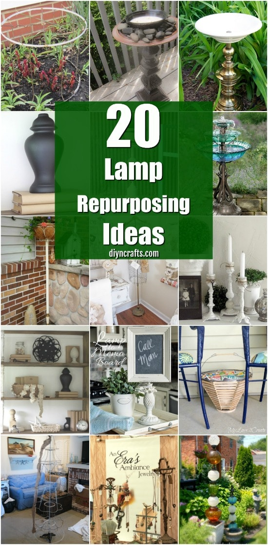 20 Fantastic Lamp Repurposing Ideas To Add Style To Your Home And ...