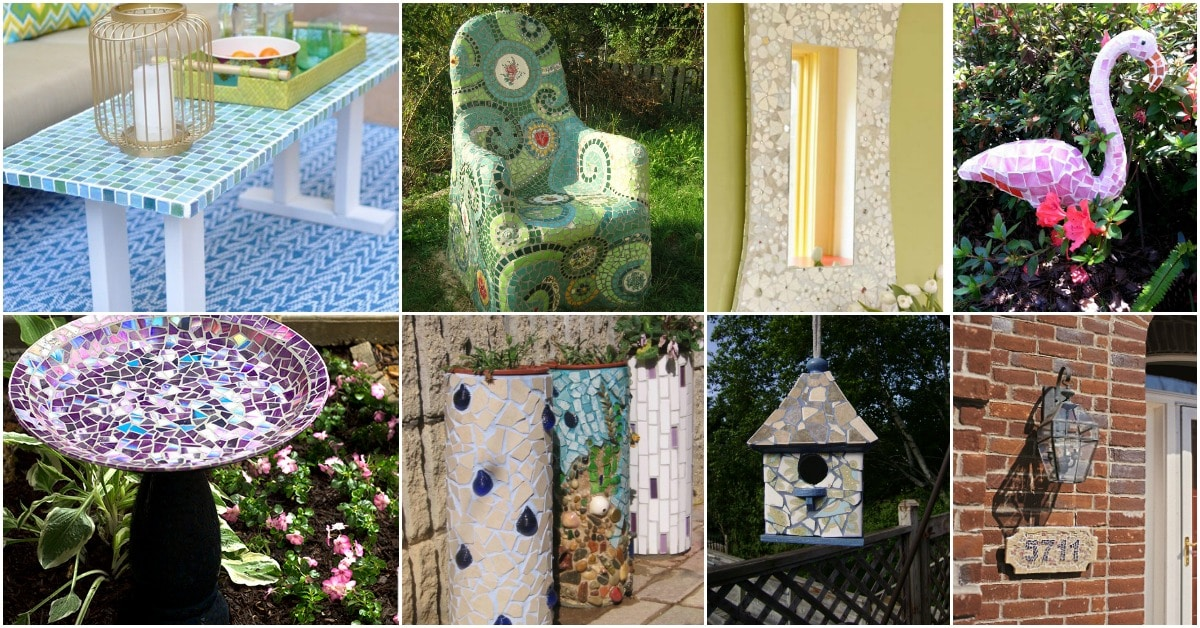 30 gorgeous mosaic projects to beautify your home and for Mosaic pieces for crafts