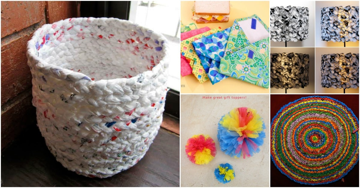 plastic craft ideas 30 amazing upcycling ideas to turn grocery bags into 2711