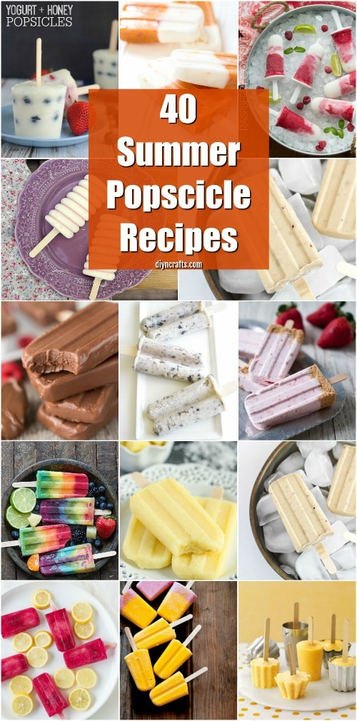 40 refreshing popsicle recipes you simply have to try this summer diy crafts - Refreshing dishes yogurt try summer ...